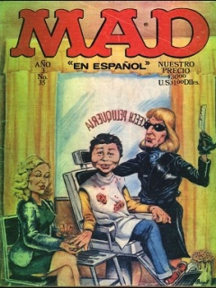 Go to MAD Magazine #35 • Mexico • 1st Edition - Lisa