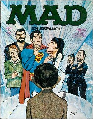 MAD Magazine #36 • Mexico • 1st Edition - Lisa