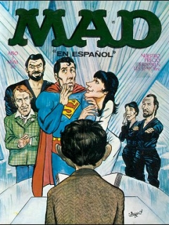 Go to MAD Magazine #36 • Mexico • 1st Edition - Lisa