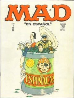 Go to MAD Magazine #38 • Mexico • 1st Edition - Lisa