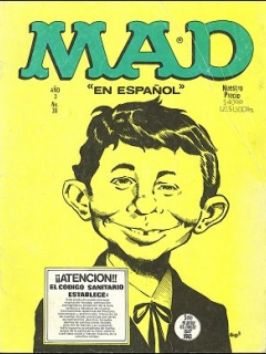 Go to MAD Magazine #39 • Mexico • 1st Edition - Lisa