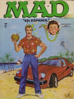 Go to MAD Magazine #41 • Mexico • 1st Edition - Lisa