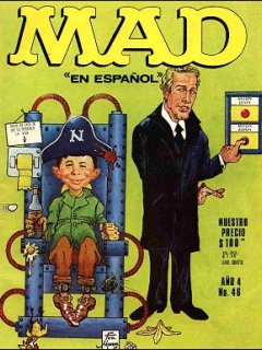 Go to MAD Magazine #46 • Mexico • 1st Edition - Lisa