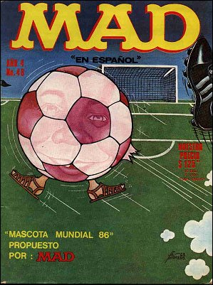 MAD Magazine #48 • Mexico • 1st Edition - Lisa