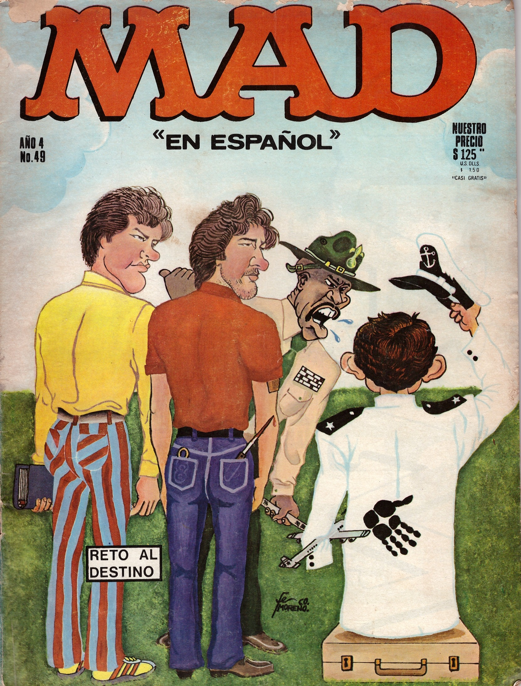 MAD Magazine #49 • Mexico • 1st Edition - Lisa