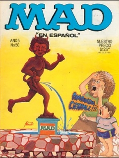 Go to MAD Magazine #50 • Mexico • 1st Edition - Lisa