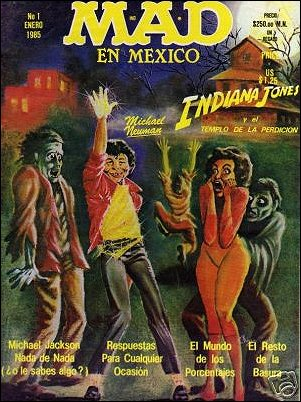 MAD Magazine #1 • Mexico • 2nd Edition - Grafo