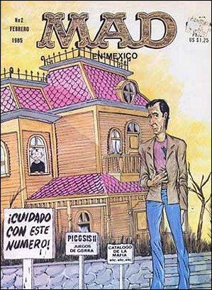 MAD Magazine #2 • Mexico • 2nd Edition - Grafo