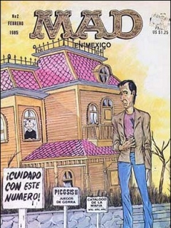 Go to MAD Magazine #2 • Mexico • 2nd Edition - Grafo
