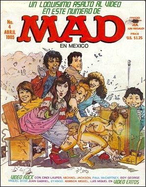 MAD Magazine #4 • Mexico • 2nd Edition - Grafo