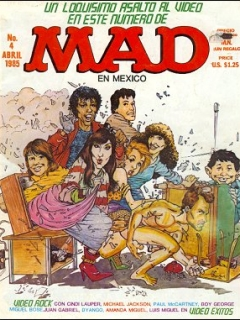 Go to MAD Magazine #4 • Mexico • 2nd Edition - Grafo