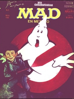 Go to MAD Magazine #5 • Mexico • 2nd Edition - Grafo