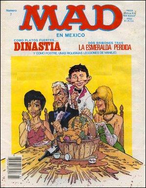 MAD Magazine #7 • Mexico • 2nd Edition - Grafo