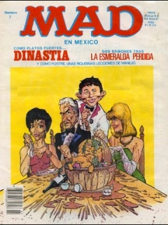 Go to MAD Magazine #7 • Mexico • 2nd Edition - Grafo