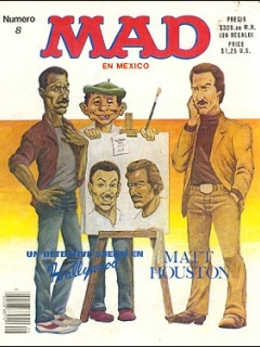Go to MAD Magazine #8 • Mexico • 2nd Edition - Grafo