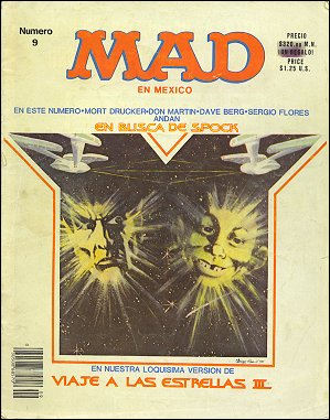 MAD Magazine #9 • Mexico • 2nd Edition - Grafo