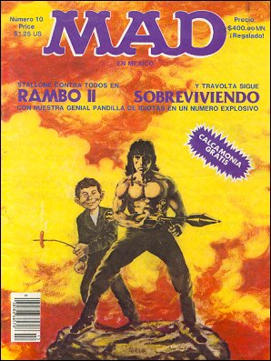 MAD Magazine #10 • Mexico • 2nd Edition - Grafo