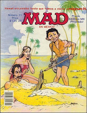 MAD Magazine #11 • Mexico • 2nd Edition - Grafo