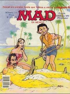 Go to MAD Magazine #11 • Mexico • 2nd Edition - Grafo