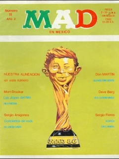 Go to MAD Magazine #16 • Mexico • 2nd Edition - Grafo