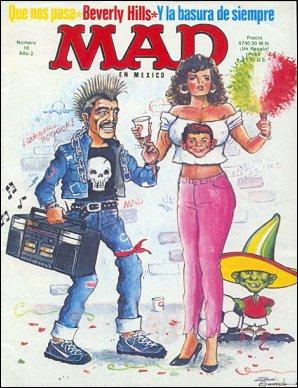 MAD Magazine #18 • Mexico • 2nd Edition - Grafo