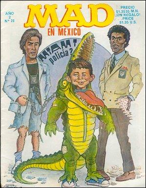 MAD Magazine #20 • Mexico • 2nd Edition - Grafo