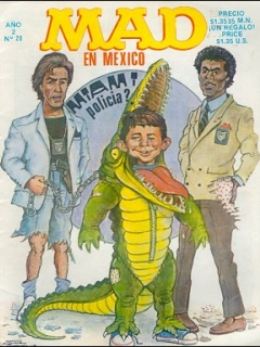 Go to MAD Magazine #20 • Mexico • 2nd Edition - Grafo