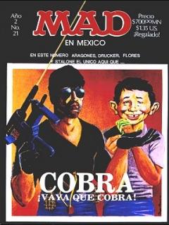 MAD Magazine #21 • Mexico • 2nd Edition - Grafo