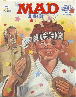 MAD Magazine #23 • Mexico • 2nd Edition - Grafo