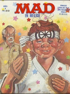 Go to MAD Magazine #23 • Mexico • 2nd Edition - Grafo