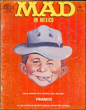 MAD Magazine #26 • Mexico • 2nd Edition - Grafo