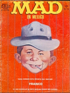 Go to MAD Magazine #26 • Mexico • 2nd Edition - Grafo