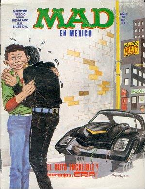 MAD Magazine #27 • Mexico • 2nd Edition - Grafo