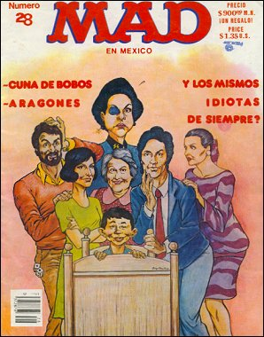 MAD Magazine #28 • Mexico • 2nd Edition - Grafo