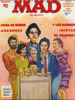 Go to MAD Magazine #28 • Mexico • 2nd Edition - Grafo