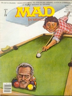 Go to MAD Magazine #29 • Mexico • 2nd Edition - Grafo