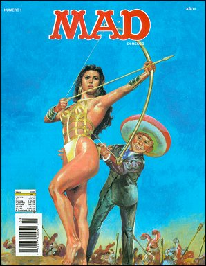 MAD Magazine #1 • Mexico • 3rd Edition - Enigma