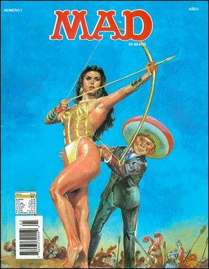 MAD Magazine • Mexico • 3rd Edition - Enigma