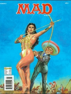 Go to MAD Magazine #1 • Mexico • 3rd Edition - Enigma