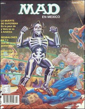 MAD Magazine #2 • Mexico • 3rd Edition - Enigma