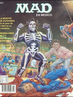 Go to MAD Magazine #2 • Mexico • 3rd Edition - Enigma