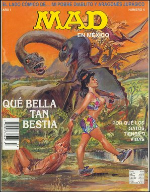 MAD Magazine #4 • Mexico • 3rd Edition - Enigma