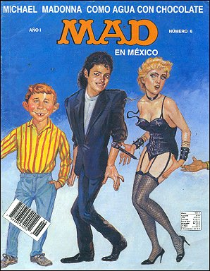 MAD Magazine #6 • Mexico • 3rd Edition - Enigma