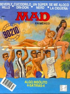 Go to MAD Magazine #7 • Mexico • 3rd Edition - Enigma