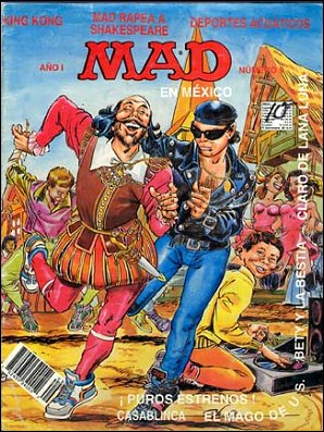 MAD Magazine #9 • Mexico • 3rd Edition - Enigma