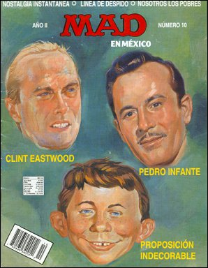 MAD Magazine #10 • Mexico • 3rd Edition - Enigma