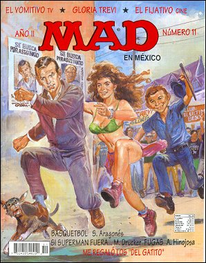 MAD Magazine #11 • Mexico • 3rd Edition - Enigma