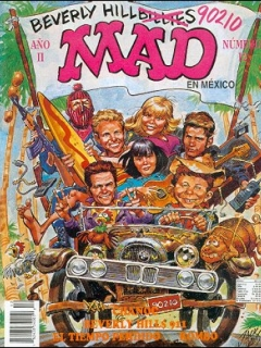 Go to MAD Magazine #12 • Mexico • 3rd Edition - Enigma