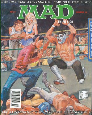 MAD Magazine #14 • Mexico • 3rd Edition - Enigma