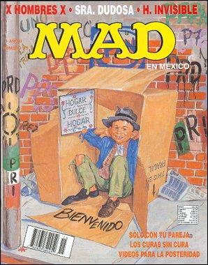 MAD Magazine #15 • Mexico • 3rd Edition - Enigma
